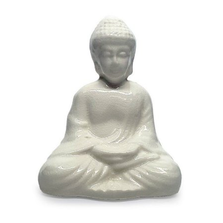 Enfeite de Porcelana Buda