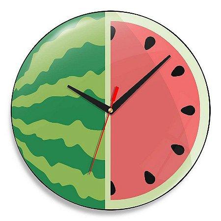 Relógio de Parede Melancia - 30 cm