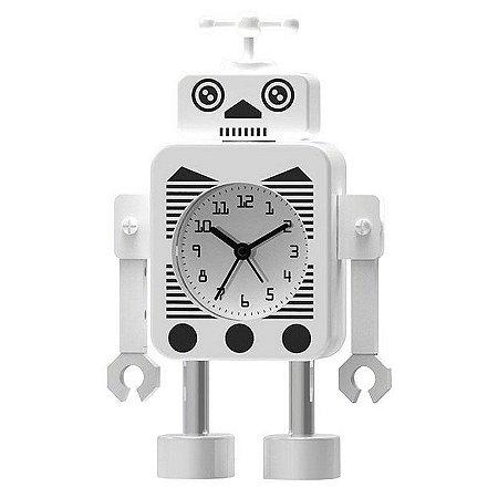 Relógio de mesa Female Robot