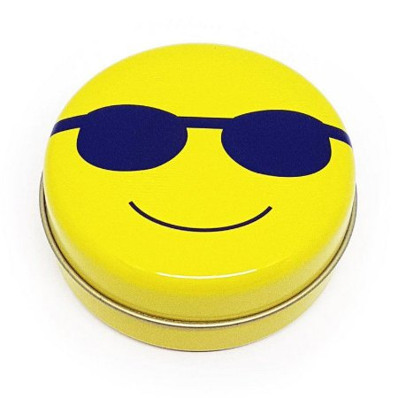 Latinha Emoticon - Emoji Óculos de sol