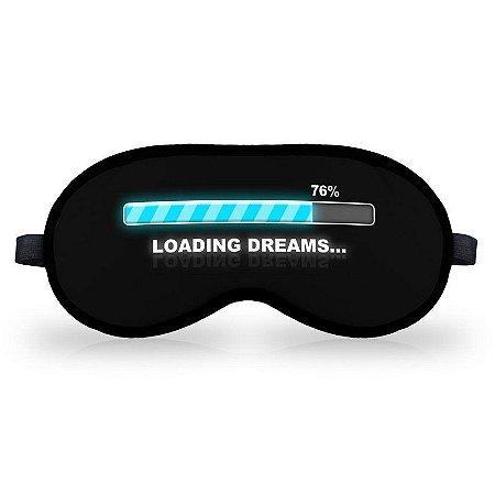 Máscara de Dormir em neoprene - Loading Dreams