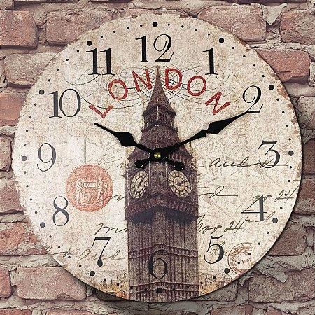 Relógio de Parede London Big Bem