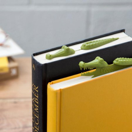 Marcador de Página Crocodilo Crocmark