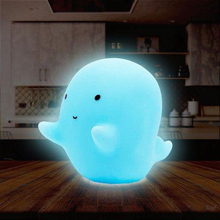 Luminária sem fio Fantasminha - azul