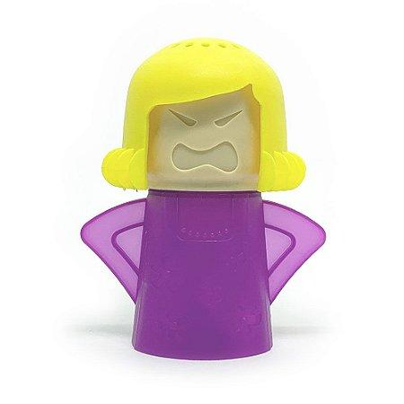 Limpador de Micro-Ondas Angry Mama - roxo