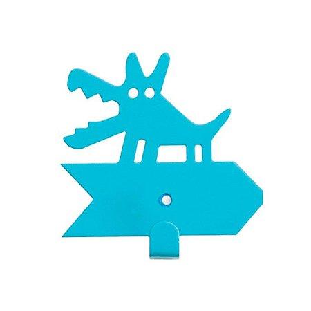 Cabideiro Cachorrinho - azul