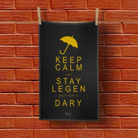 Pano Decorativo Multiuso Legen wait for it Dary Legendary