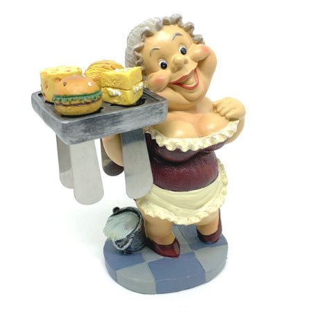Kit Estátua Bandeja com Espátulas para manteiga - 5 peças