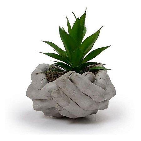 Vaso em cerâmica Mãos