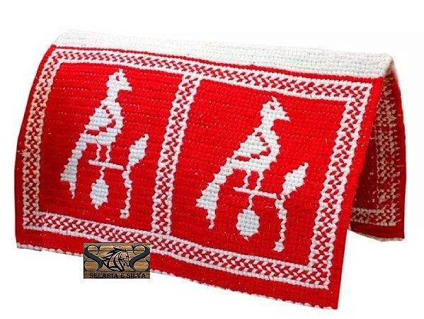 Manta Lã Vermelho