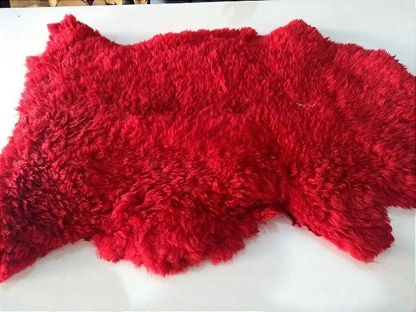 Manta Pelego- Vermelho