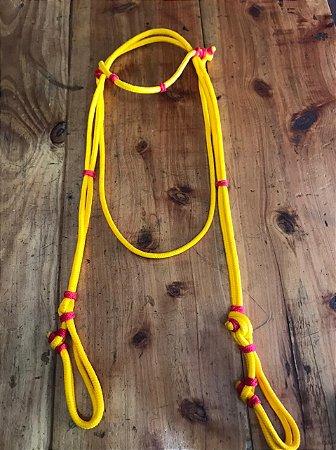 Cabeçada Cordinha- Amarelo