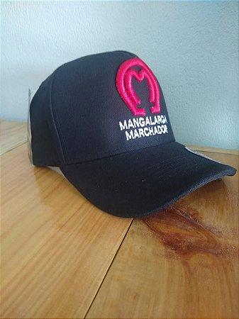 Boné Mangalarga Preto