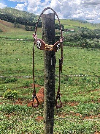 Cabeçada Havana Aplique Cavalinho