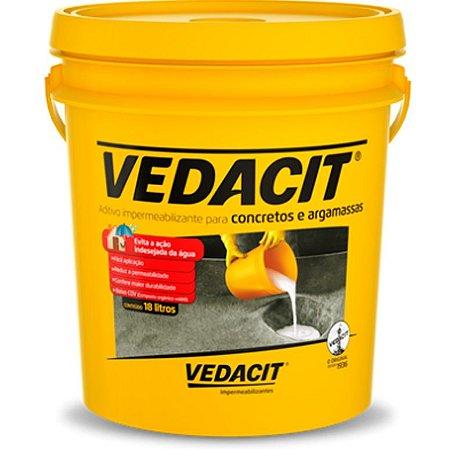 Impermeabilizante para Concreto e Argamassa 18L Vedacit