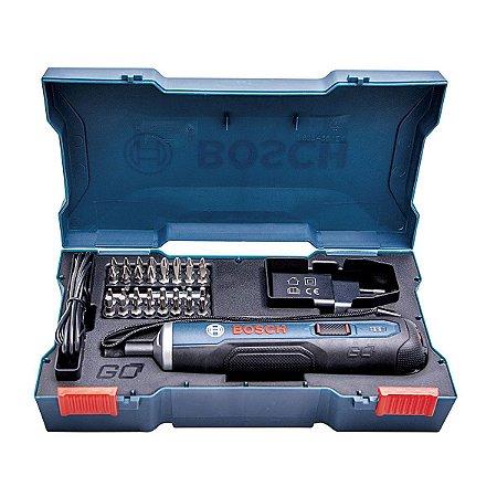 Parafusadeira Novo GO 3,6 C/KIT 33BITS Bosch
