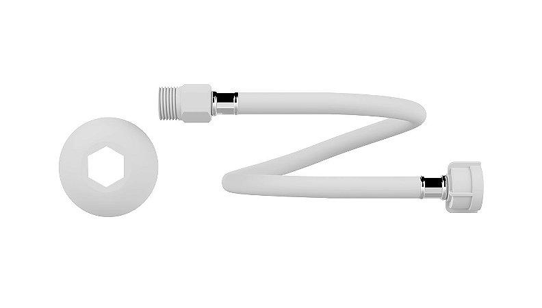Engate Flexível PVC P/ Água Fria Macho X Fêmea 1/2X60cm 7122 Censi