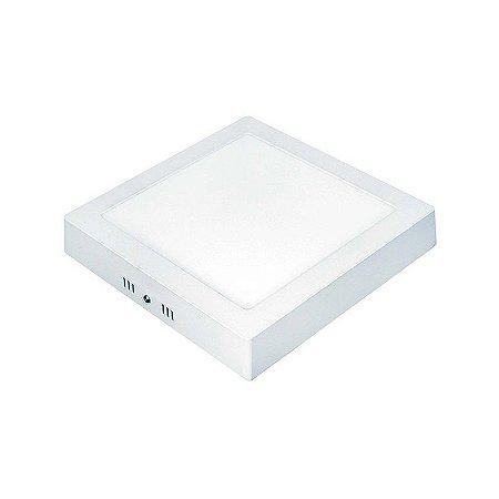 Painel LED 18W Quadrado Sobrepor 6500K Taschibra