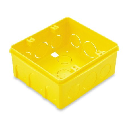 Caixa de embutir 4x4 quadrada Tramontina