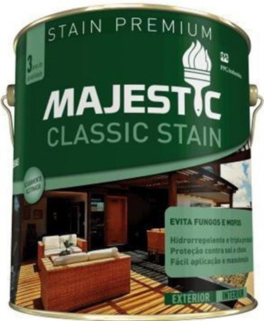 Verniz Stain Classic Majestic Natural 900ml Renner