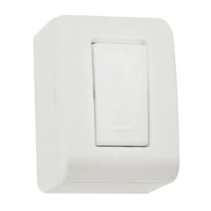 Conjunto caixa com 1 interruptor paralelo 10A 250V Tramontina