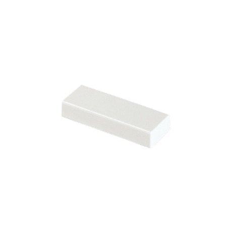 Tampa de extremidade 20mmX10mm cor branco Tramontina