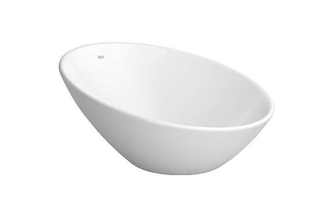 Cuba de Apoio para Banheiro Redonda L1036 39cm Branca Deca