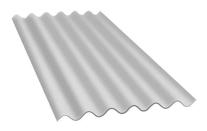Telha Fibrocimento 110x183cmx6mm Cinza Isdralit