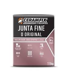 Rejunte 100 Fine Branco 1KG Ceramfix