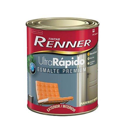 Tinta Esmalte Ultra Rápido Premium 3,6 Litros Branco Acetinado Renner