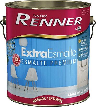 Tinta Esmalte Extra Premium 3,6 Litros Branco Acetinado Renner