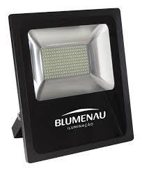 Refletor Led 100W 6000K Slim IP65 Blumenau