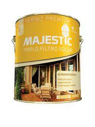 Verniz Triplo Filtro Majestic Acetinado Natural 3,6 Litros Renner