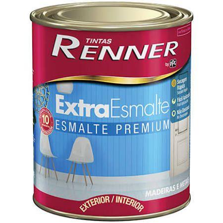 Tinta Esmalte Extra Acetinado Branco 900Ml Renner