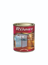 Tinta Esmalte Extra Brilhante Transparente 900Ml Renner
