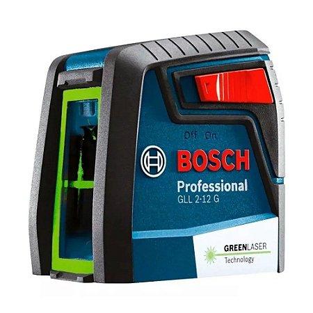 Nivel a Laser Verde 12MT GLL 2-12G Com Bolsa De Proteção Bosch