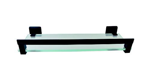 Porta Shampoo C/Grade Preto Fosco Reflexos