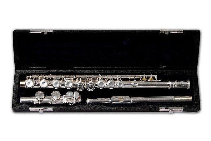 Flauta Transversal Prateada SCHF-001 - SCHIEFFER
