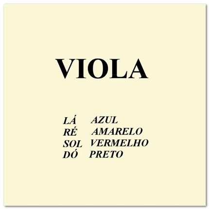 Encordoamento p/ Viola Clássica - MAURO CALIXTO