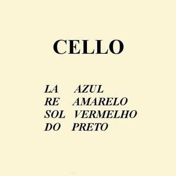 Encordoamento p/ Violoncelo - MAURO CALIXTO
