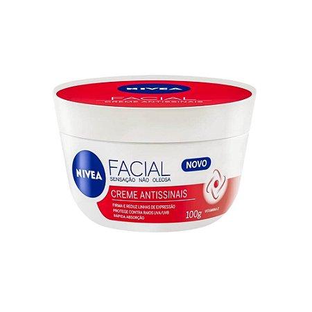 Creme Hidratante Facial Nivea Antissinais 100g - Nivea