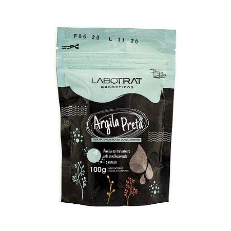 Argila Preta 100% Natural 100g - Labotrat