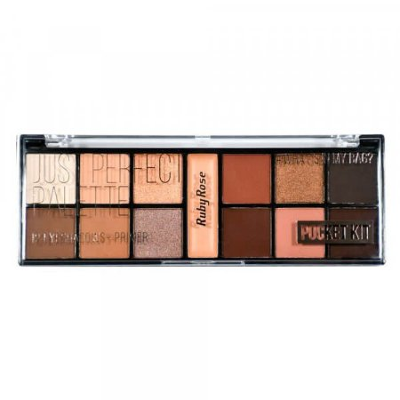 Paleta de Sombras Just Perfect 12 Cores - Ruby Rose