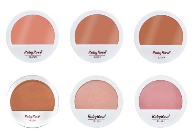 Blush Compacto - Ruby Rose