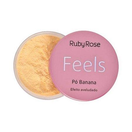 Pó Banana Feels Efeito Aveludado - Ruby Rose