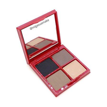 Paleta de Sombra para Sobrancelhas com Espelho - Max Love