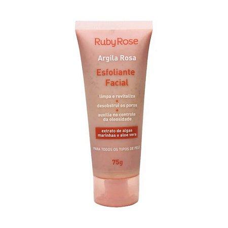 Esfoliante Facial Argila Rosa - Ruby Rose