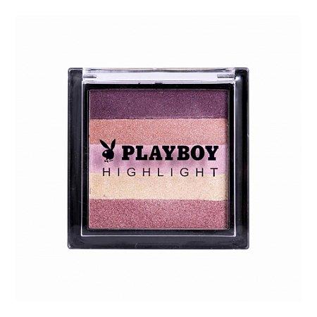 Iluminador e Blush Mosaico - Playboy
