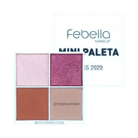 Mini Paleta de Sombras Cors 2020 - Febella Makeup