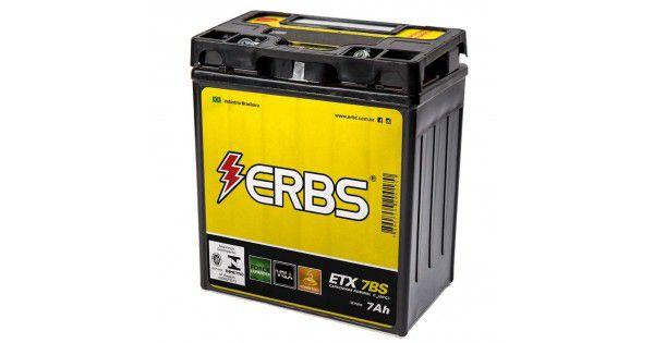 Bateria ERBS ETX 7BS Twister/fazer/lander 250